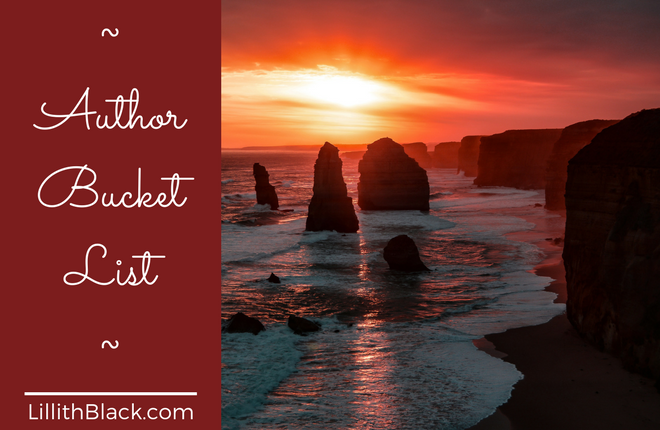 Author Bucket List