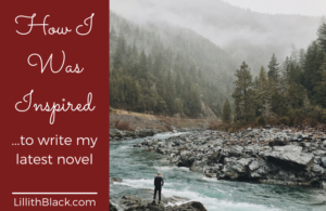 How I was inspired to write my latest novel
