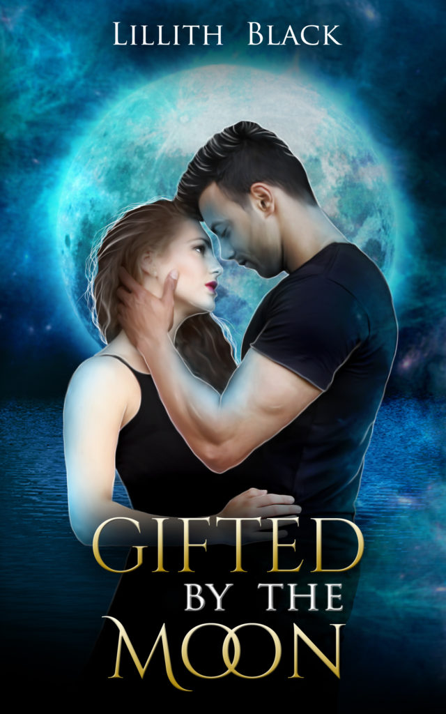 Gifted by the Moon, urban fantasy romance novel