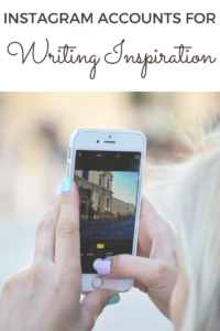 5 Amazing Instagram Accounts for Writing Inspiration